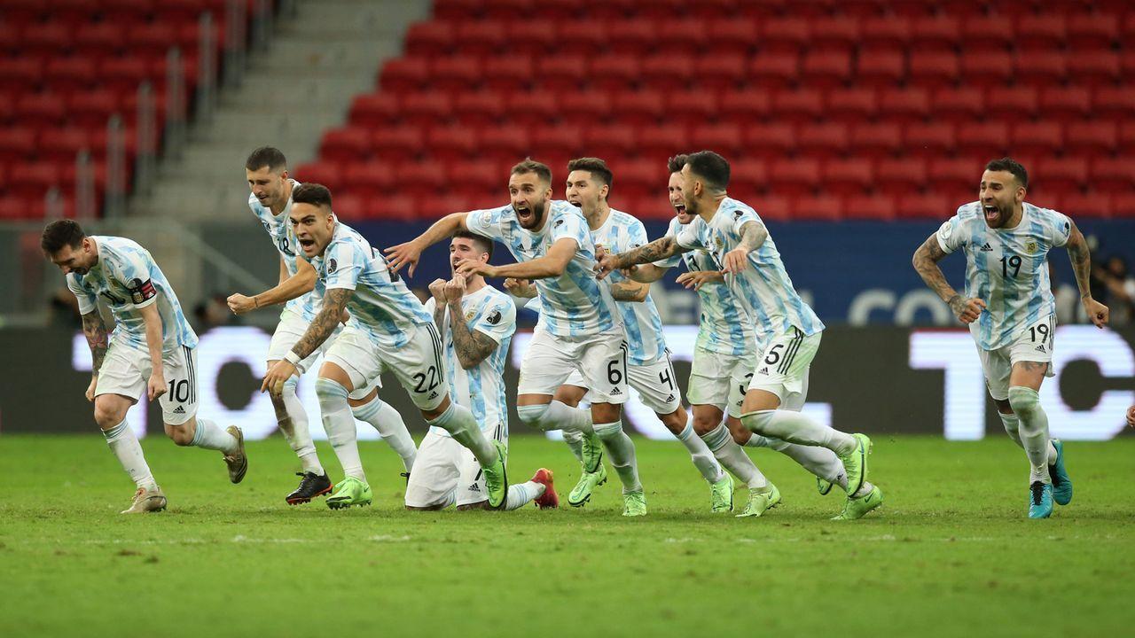 Anderes Bild in der Copa America - Bildquelle: 2021 Getty Images