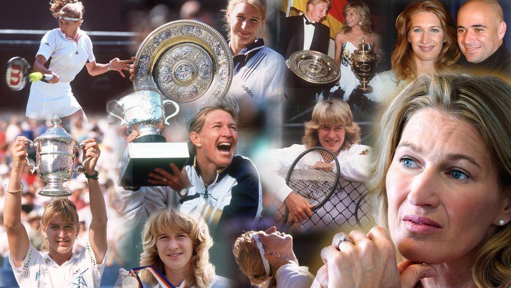 Steffi Graf zählt zu den erfolgreichsten Sportlerinnen des 20. Jahrhunderts - Bildquelle: imago images / Sven Simon