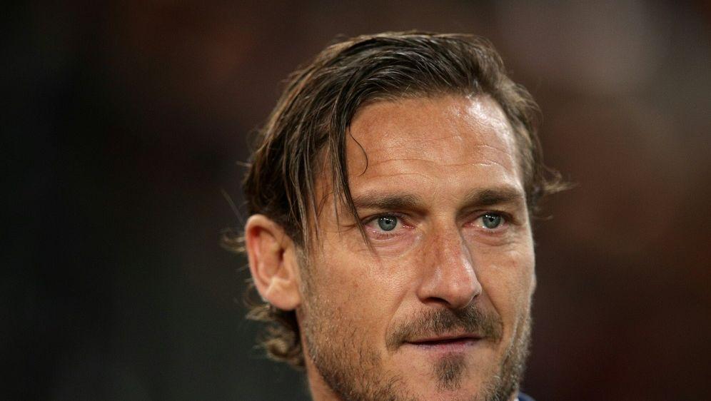 Totti hatte seinen Ex-Verein scharf kritisiert - Bildquelle: PIXATHLONPIXATHLONSID