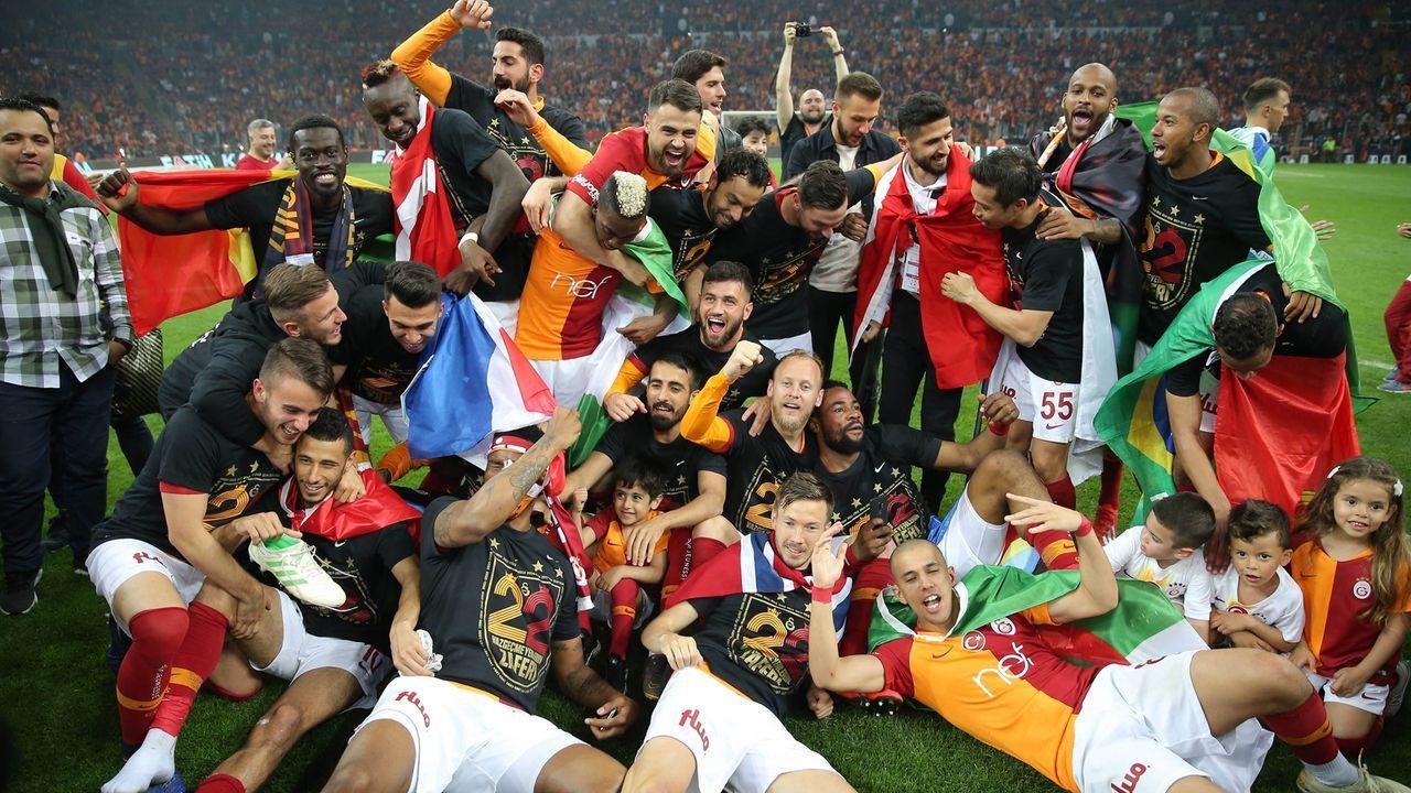 Galatasaray Istanbul - Bildquelle: imago images / Seskim Photo