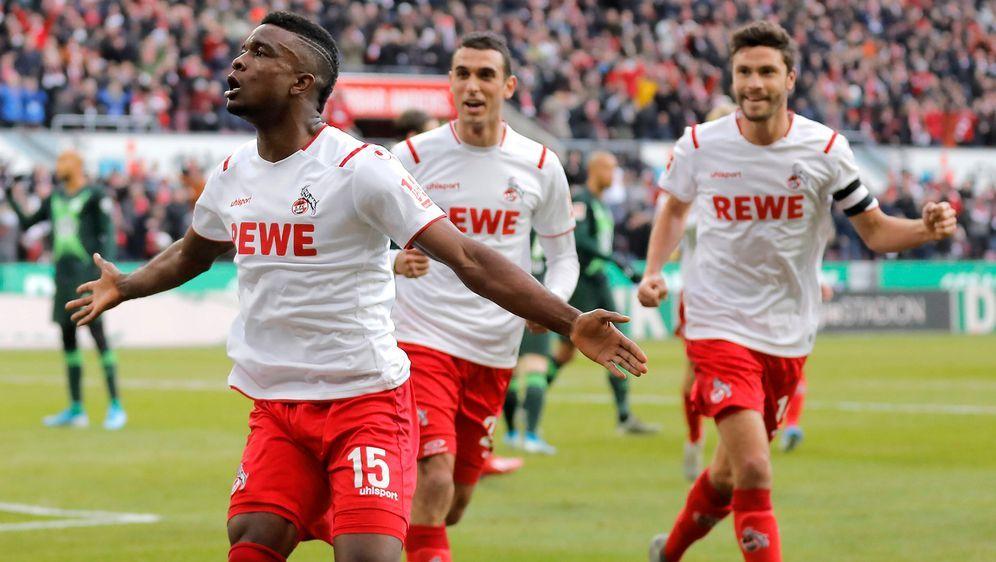 Cordoba erzielt zwei Treffer für den 1. FC Köln - Bildquelle: imago images / Mika Volkmann