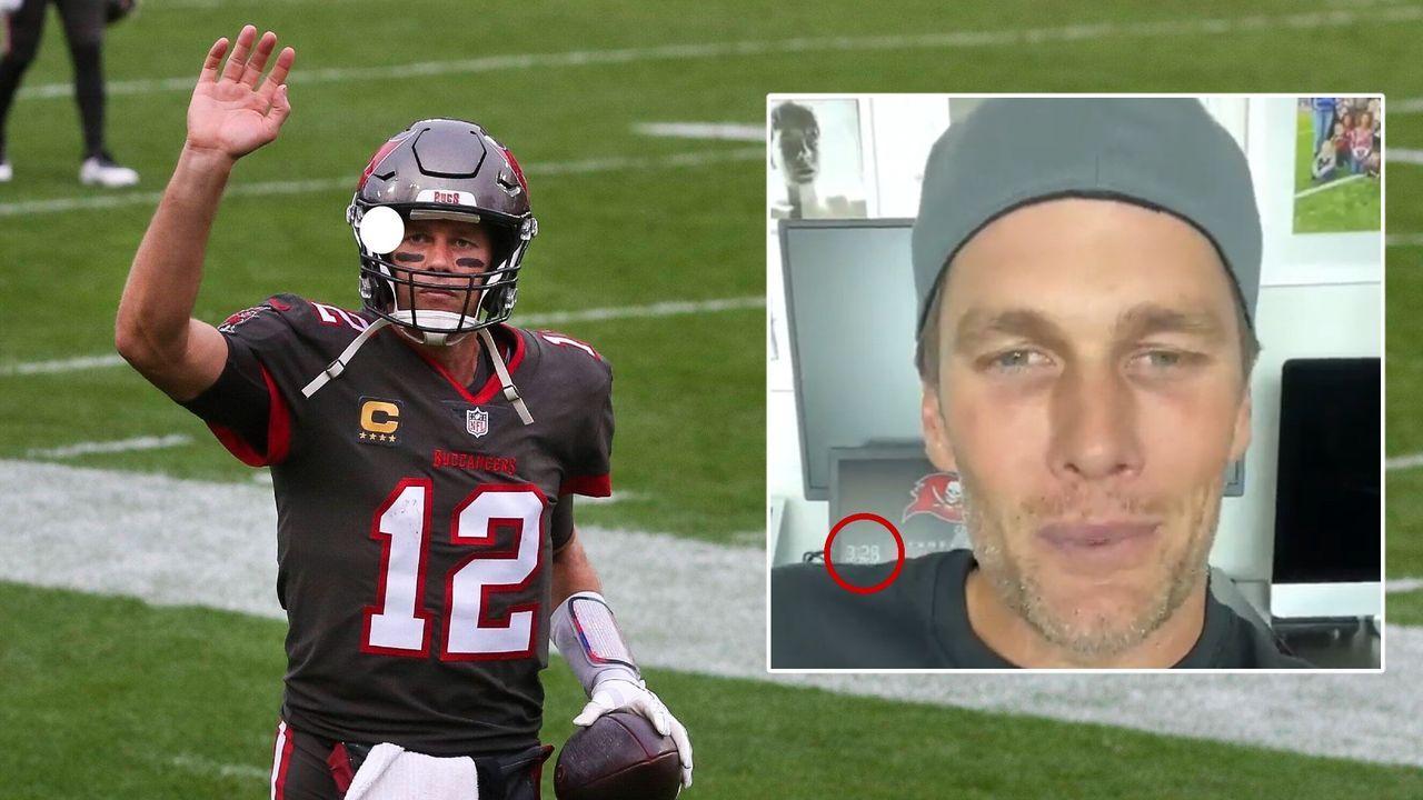 3:28! Versteckte Nachricht an Falcons-Fans in Videobotschaft von Tom Brady?  - Bildquelle: imago/twitter: @TomBrady