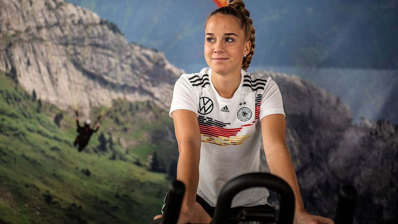 Giulia Gwinn (Abwehr) - Bildquelle: Getty Images