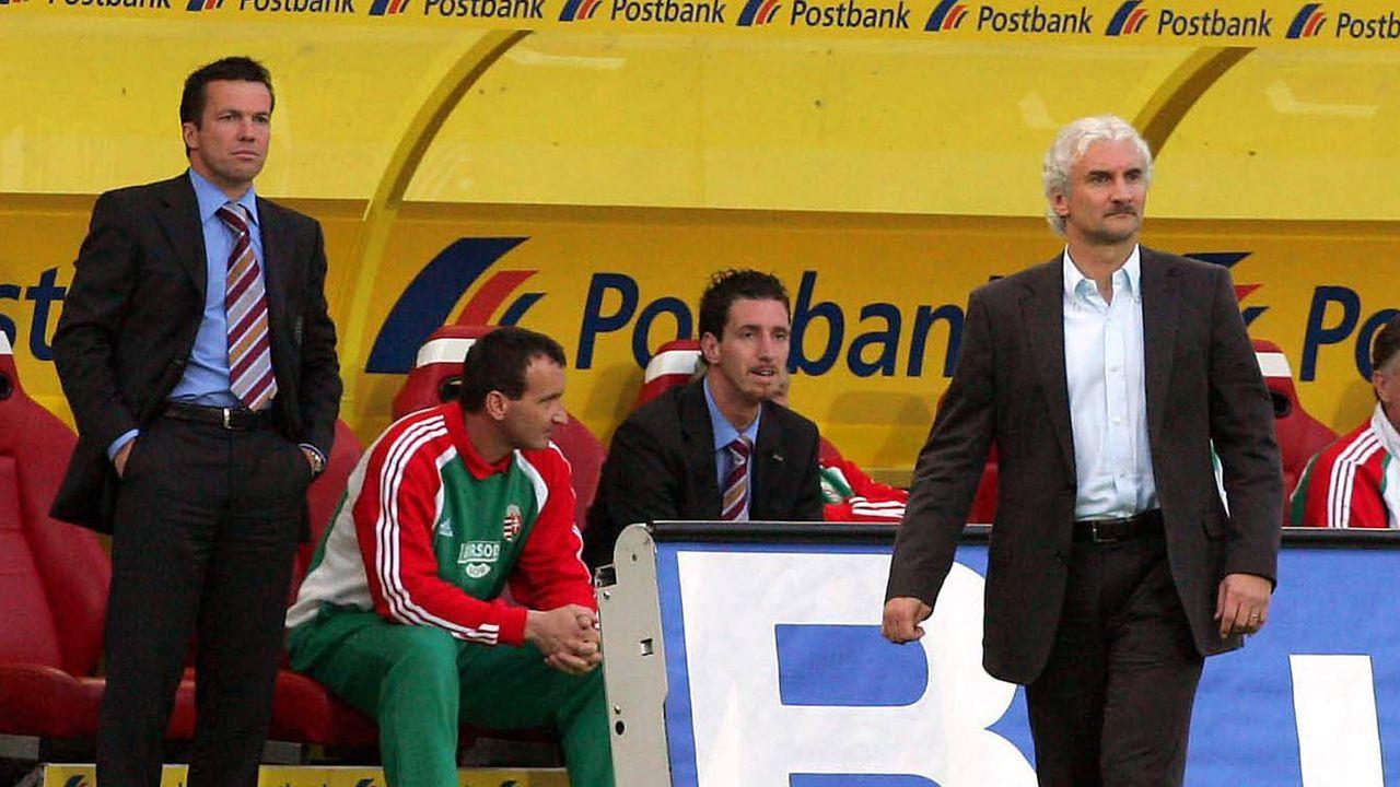 Matthäus schlägt mit Ungarn Deutschland - Bildquelle: imago