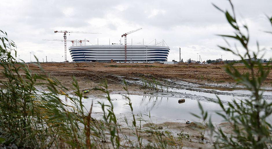 12. Kaliningrad-Stadion (Kaliningrad) - Bildquelle: imago/ITAR-TASS
