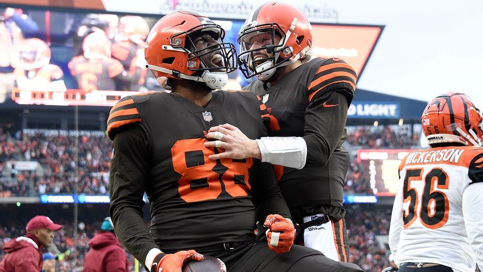 Mayfield und Co.: Sind die Cleveland Browns mit all ihren Neuverpflichtungen... - Bildquelle: imago
