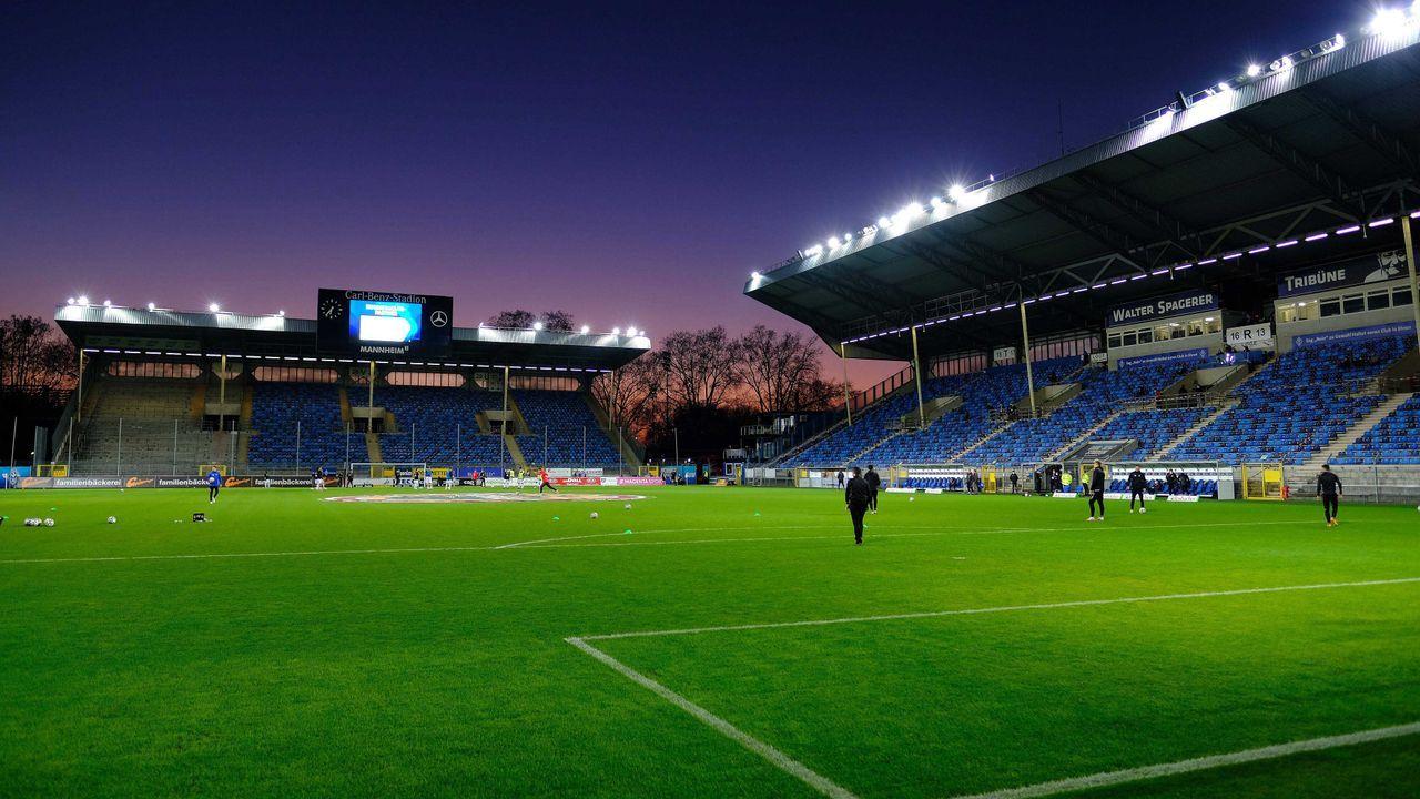 SV Waldhof Mannheim - Eintracht Frankfurt - Bildquelle: imago images/Eibner