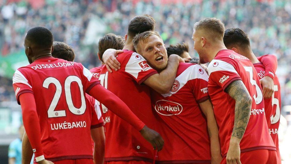 Klarer Sieg: Fortuna Düsseldorf bezwingt Werder Bremen - Bildquelle: FIROFIROSID