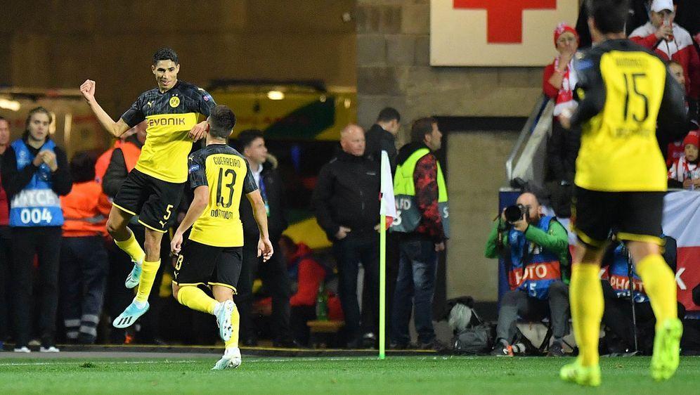 Gemessen am Ergebnis ist der BVB wieder in der Erfolgs Spur. Die Borussia au... - Bildquelle: getty