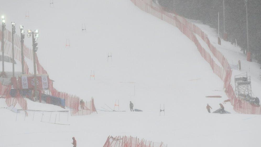 Die Bedingungen in Ofterschwang verhindern den Weltcup - Bildquelle: AFPSIDJONATHAN NACKSTRAND