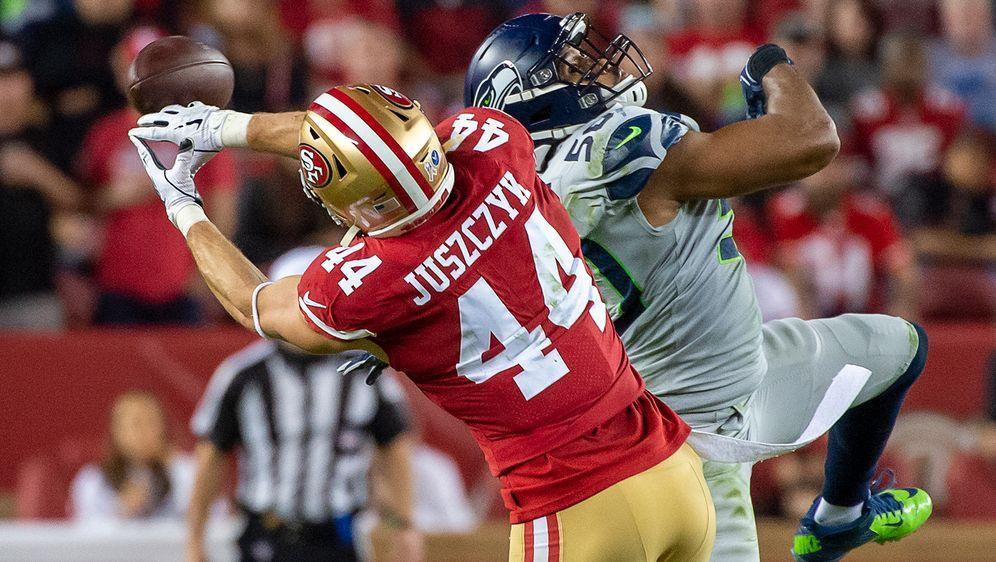 Kyle Juszczyk von den San Francisco 49ers - Bildquelle: imago images/ZUMA Press