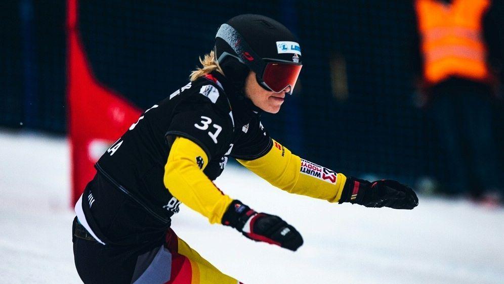 Selina Jörg holt Platz zwei beim Parallel-Slalom - Bildquelle: PIXATHLONPIXATHLONSID