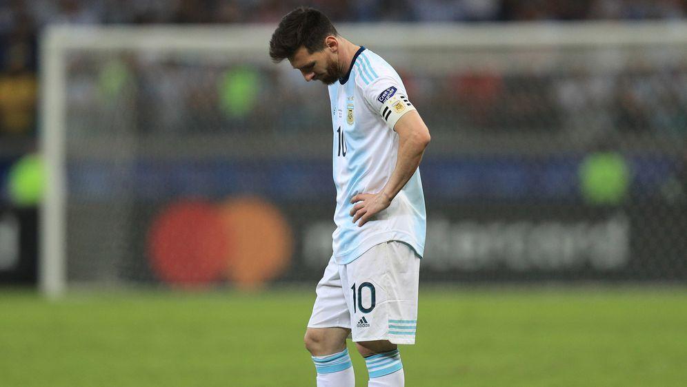 Mit Argentinien bei der Copa America ausgeschieden: Lionel Messi - Bildquelle: Getty Images