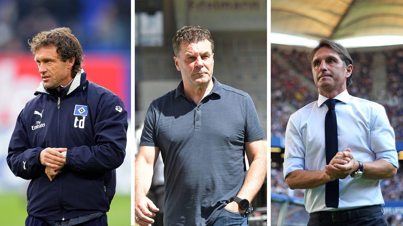 Die Trainer des Hamburger SV seit 2000 - Bildquelle: Imago