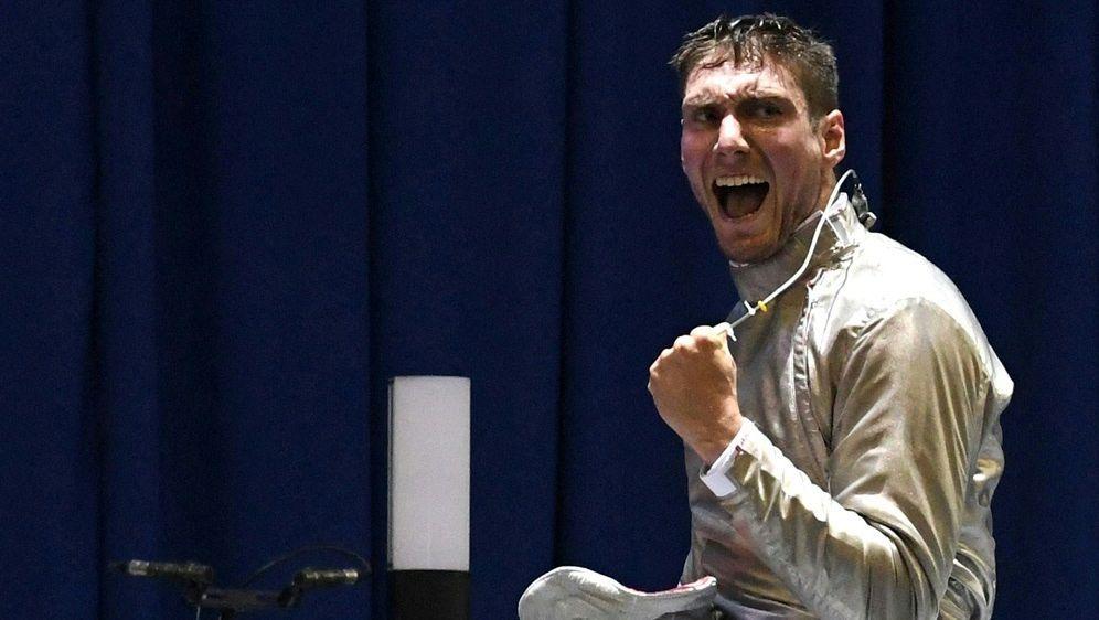 Säbelfechter Max Hartung gewinnt Auftaktgefecht - Bildquelle: AFPSIDVANO SHLAMOV