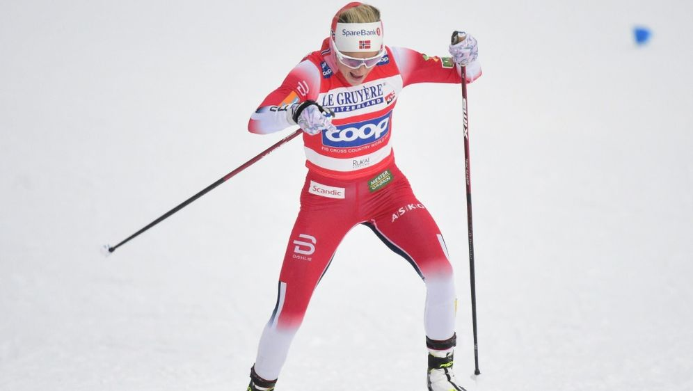 Therese Johaug zeigte ein starkes Comeback - Bildquelle: AFPSIDVESA MOILANEN