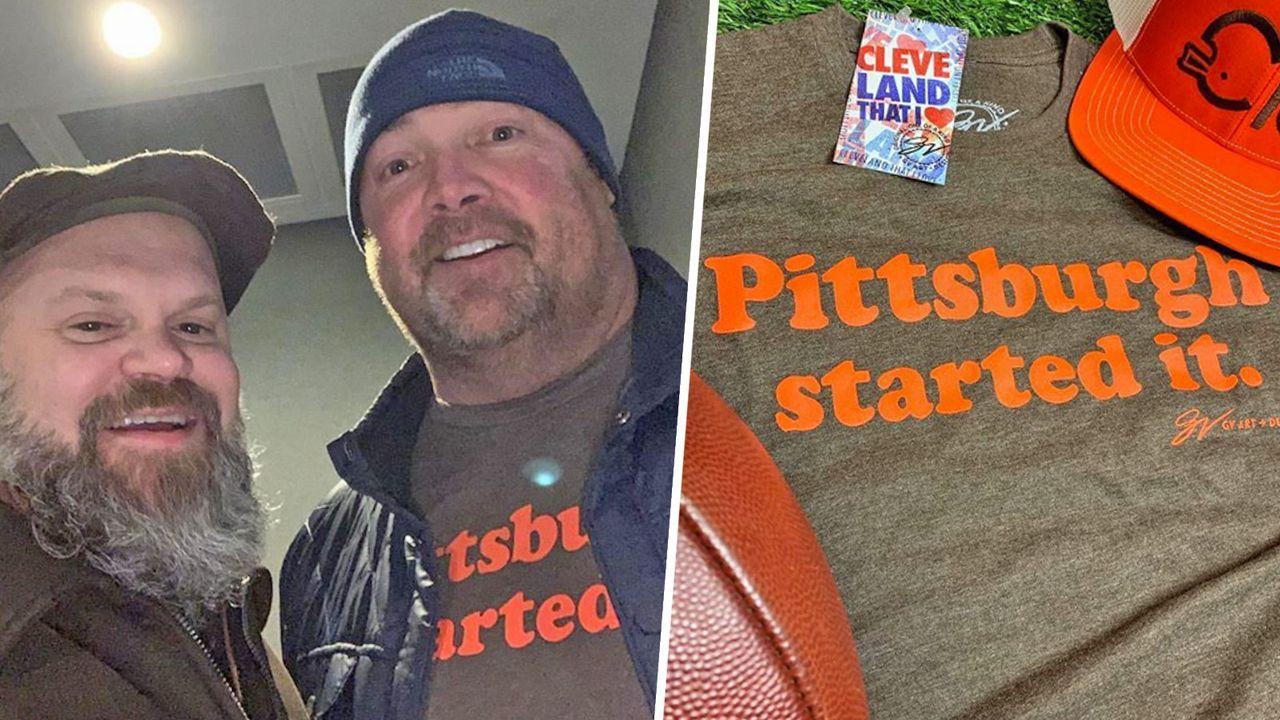 Freddie Kitchens mit brisanter Shirt-Wahl - Bildquelle: instagram.com/gvartwork/