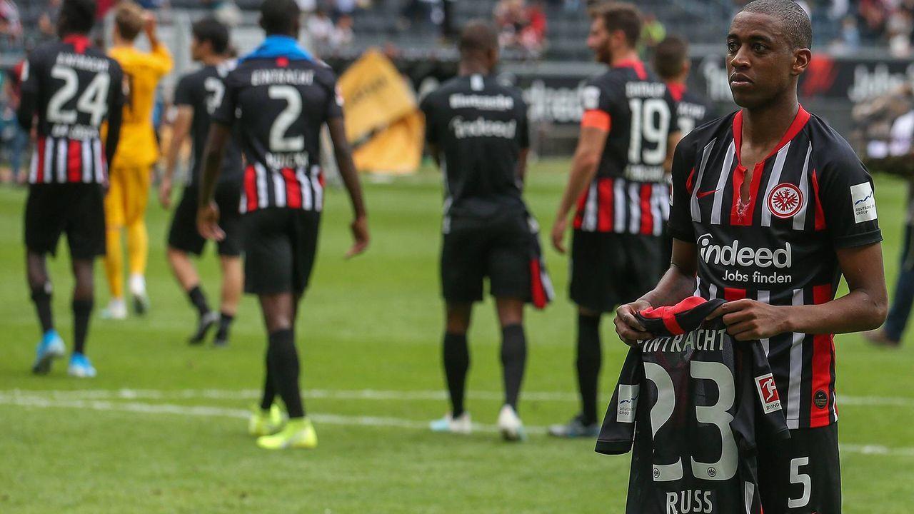 Auslaufende Verträge: Eintracht Frankfurt - Bildquelle: Imago