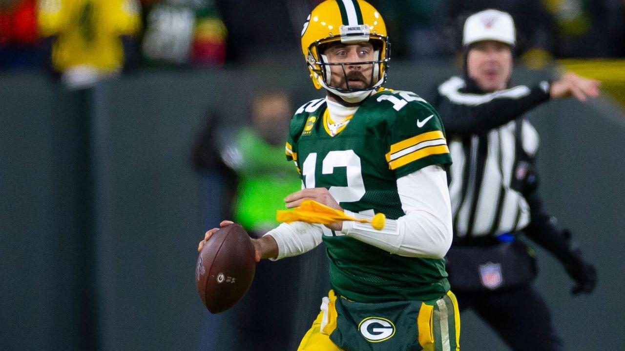 Platz 7: Aaron Rodgers (Green Bay Packers) - Bildquelle: imago