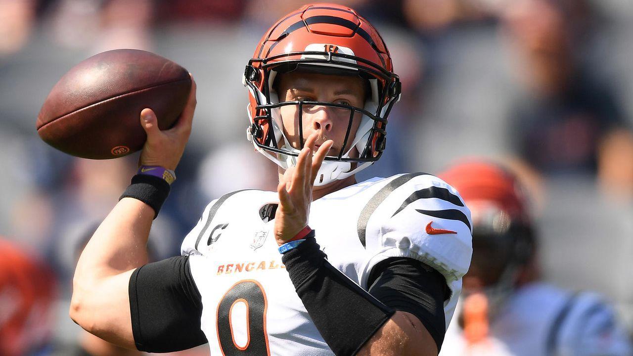 Quarterback: Joe Burrow (Cincinnati Bengals) - Bildquelle: 2021 Getty Images