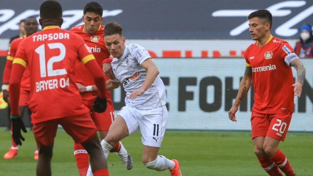 Patrik Schick sichert Leverkusen den Sieg - Bildquelle: AFPPOOLSIDWOLFGANG RATTAY