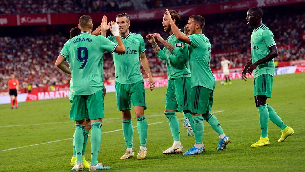 Real Madrid feierte einen 1:0-Sieg beim FC Sevilla - Bildquelle: imago images/Marca