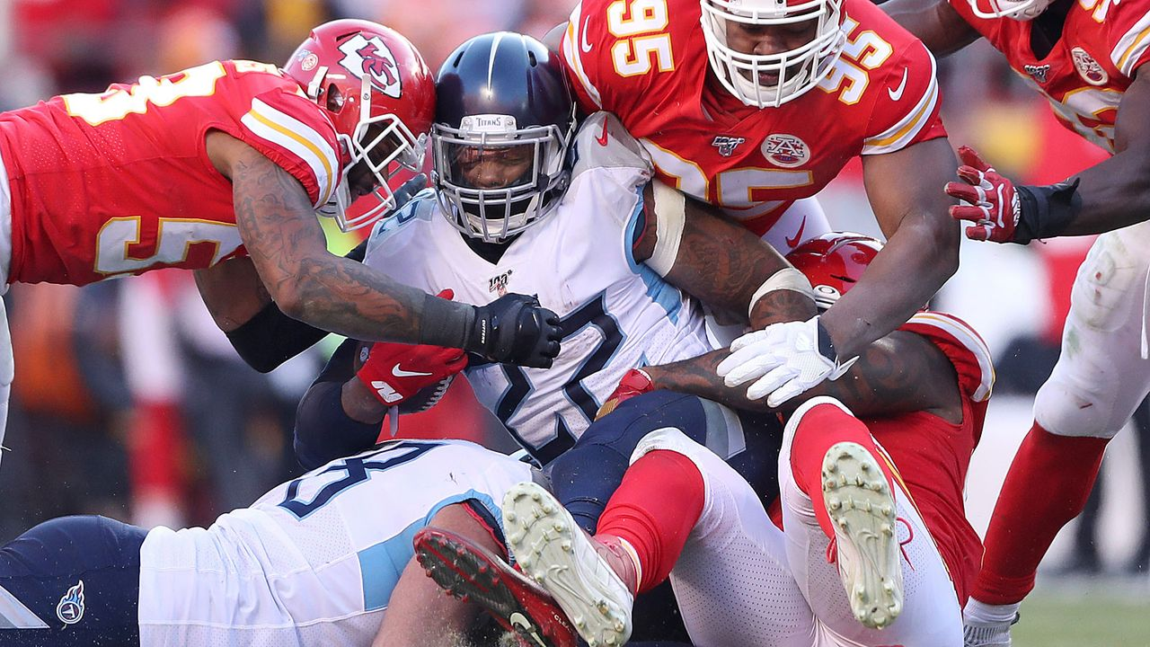 Verlierer: Derrick Henry (Tennessee Titans) - Bildquelle: 2020 Getty Images