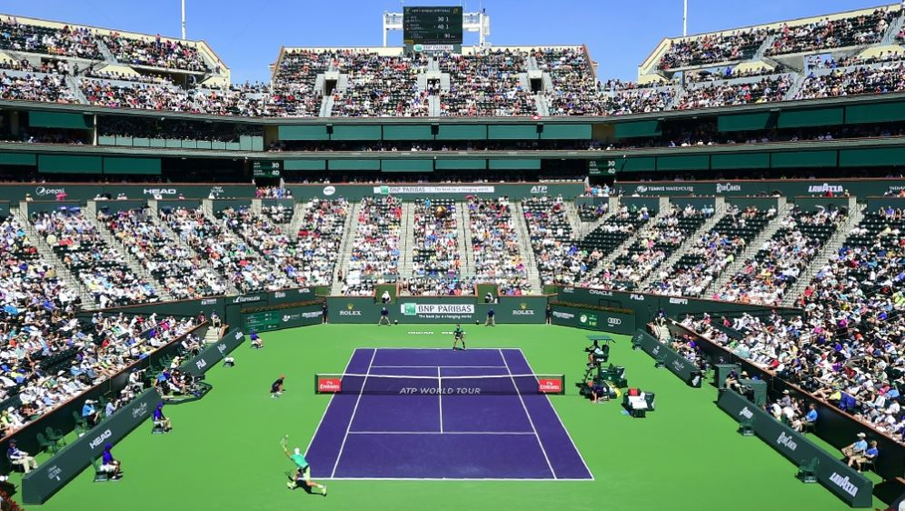 Das Turnier in Kalifornien ist vorerst abgesagt - Bildquelle: AFPSIDFREDERIC J. BROWN