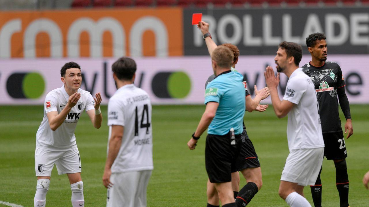 Vargas erweist Augsburg einen Bärendienst - Bildquelle: M.i.S.-Sportpressefoto