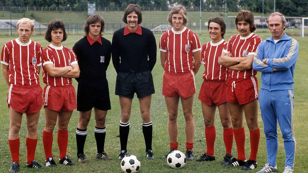 Heimtrikot der Saison 1973/74 - Bildquelle: Imago