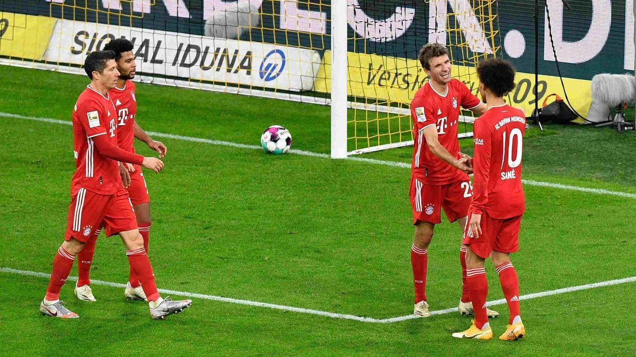 Platz 2: FC Bayern - Durchschnittlicher Tabellenplatz der Gegner: 5,7  - Bildquelle: getty