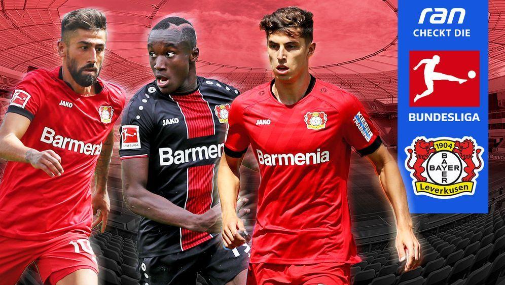 Drei von Leverkusens Hoffnungsträgern: Demirbay, Diaby und Havertz (con link... - Bildquelle: Getty/ran.de