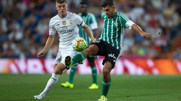 Toni Kroos (Real Madrid) - Bildquelle: 2015 Getty Images