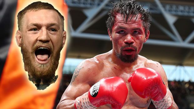 Conor McGregor vs. Manny Pacquiao - Bildquelle: 2017 Getty Images/imago