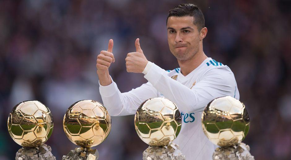 Platz 11: Cristiano Ronaldo - Bildquelle: 2017 Getty Images