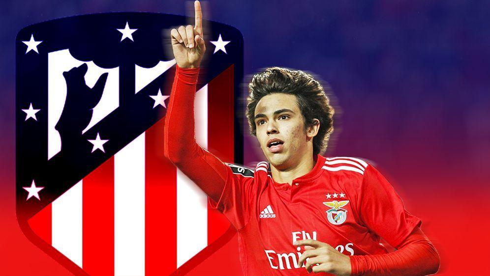Joao Felix unterschreibt bei Atletico Madrid bis 2024. - Bildquelle: Getty