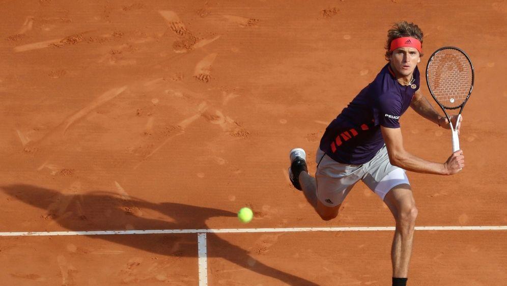 Spielt erstmals seit 2017 in Barcelona: Alexander Zverev - Bildquelle: AFPSIDVALERY HACHE