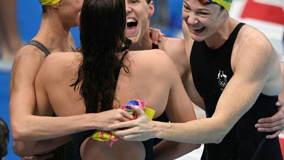 Weltrekord: Australien gewinnt Gold über 4x100 m - Bildquelle: AFPSIDOli SCARFF