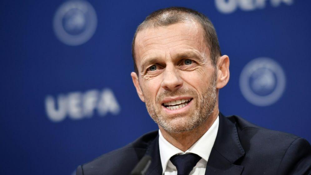 UEFA-Präsident Aleksander Ceferin - Bildquelle: AFPSIDFABRICE COFFRINI