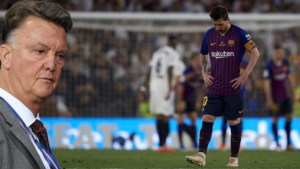 Kein guter Teamplayer - Louis van Gaal kritisiert Lionel Messi - Bildquelle: imago