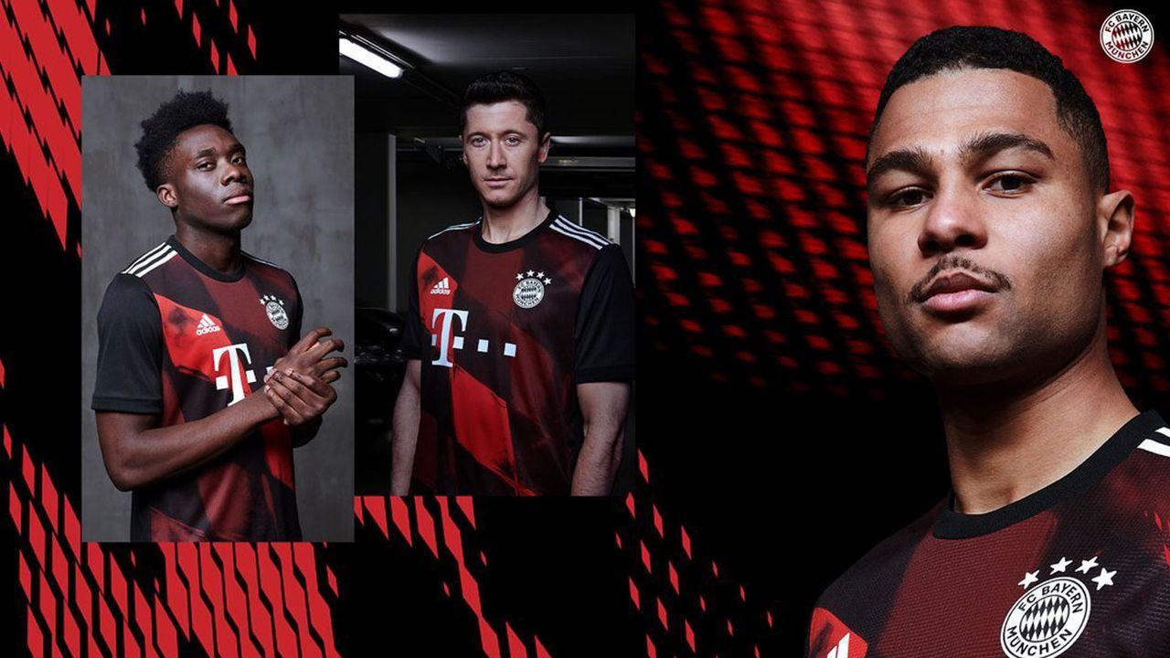 FC Bayern München - Champions-League-Trikot 2020/21 - Bildquelle: twitter.com/FCBayern