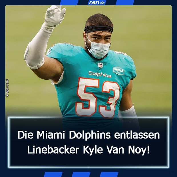 Kyle van Noy entlassen - Link in Bio