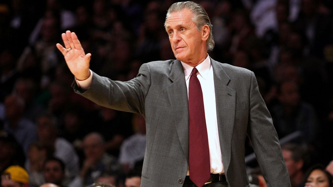 Platz 5 - Pat Riley - Bildquelle: 2008 Getty Images