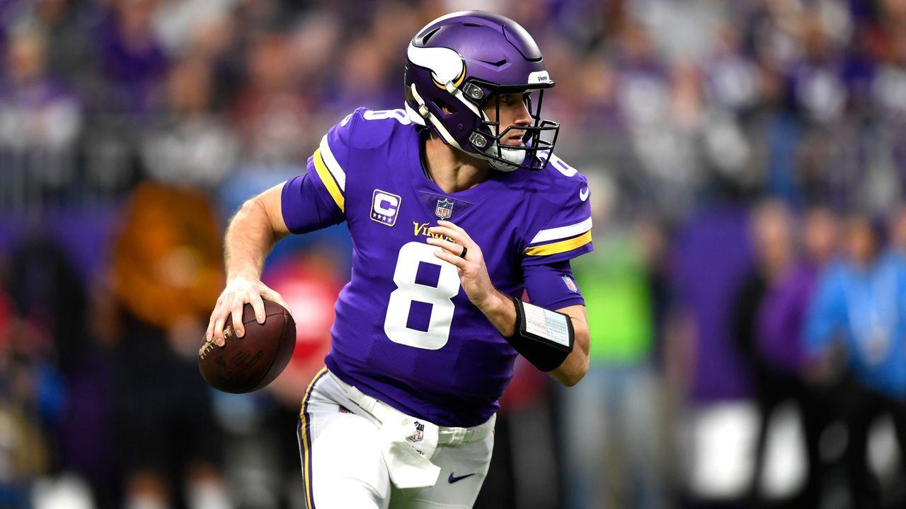 Minnesota Vikings: Kirk Cousins - Bildquelle: 2018 Getty Images