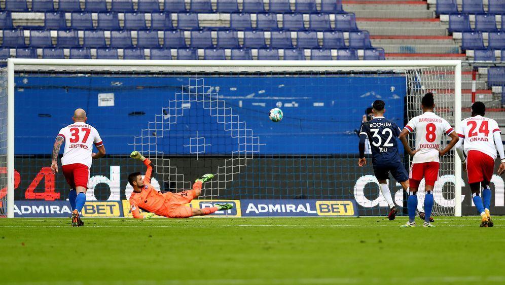 Der HSV liegt zuhause gegen Bochum zurück. - Bildquelle: Getty Images