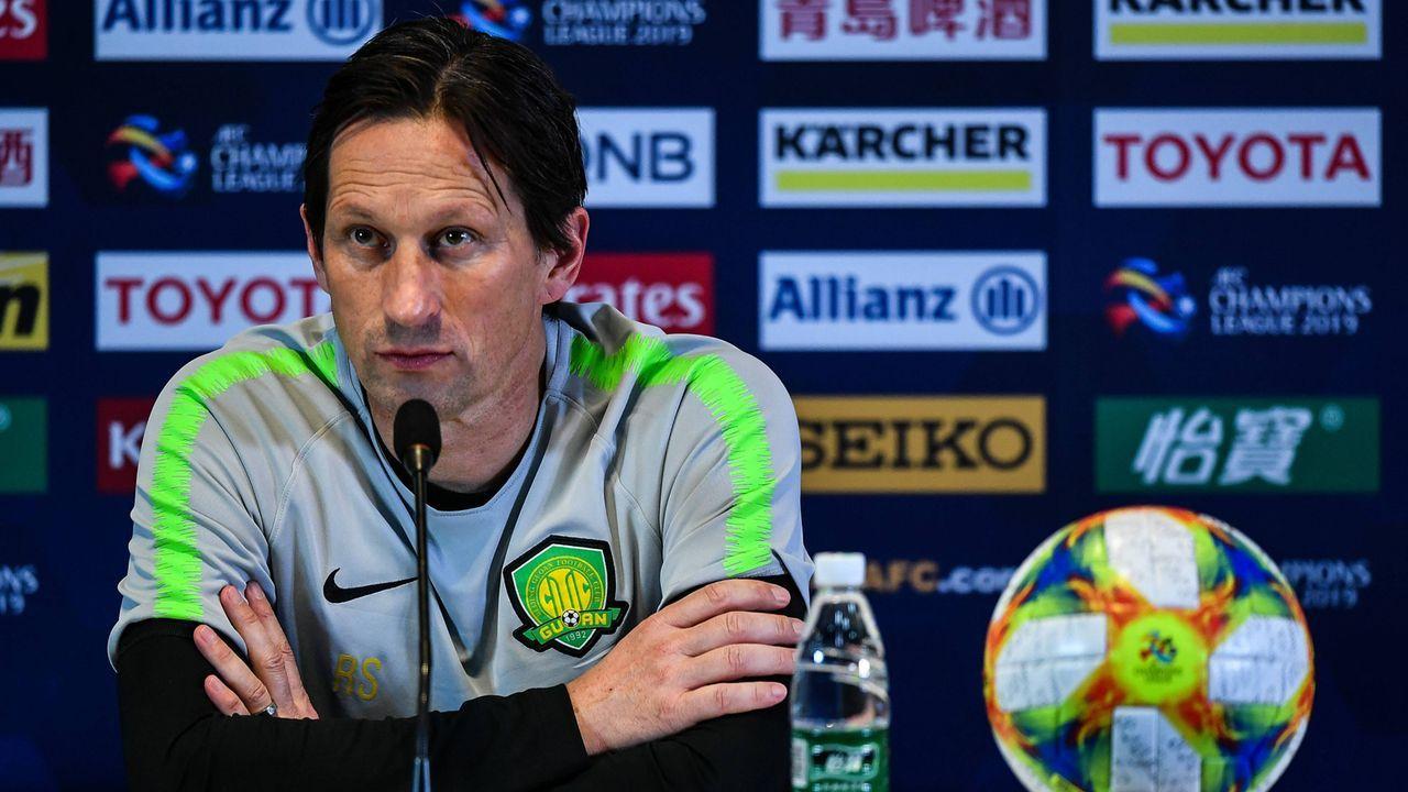 Trainerkandidat Roger Schmidt (Beijing Guoan) - Bildquelle: imago images / Imaginechina