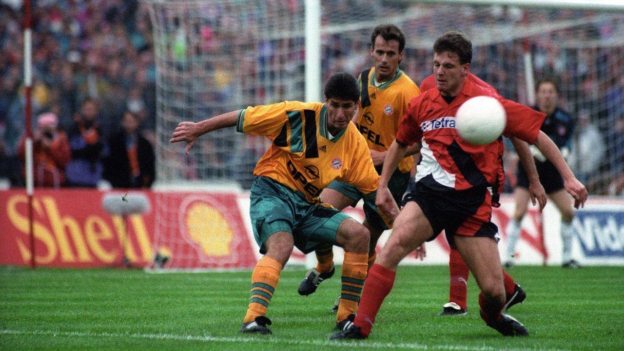 Saison 1993/94 - Bildquelle: imago sportfotodienst
