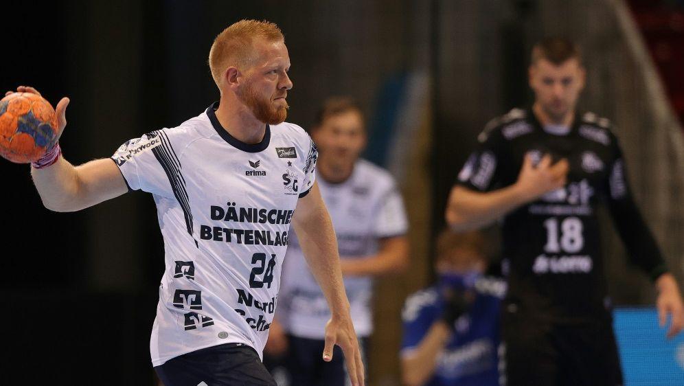 Jim Gottfridsson traf acht Mal für Flensburg - Bildquelle: firo Sportphotofiro SportphotoSID