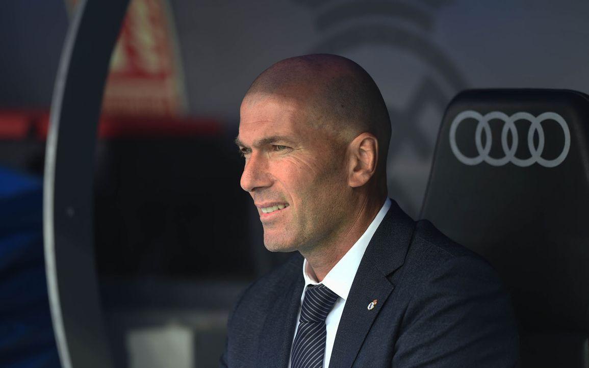 Trainer Zinedine Zidane - Bildquelle: 2019 Getty Images