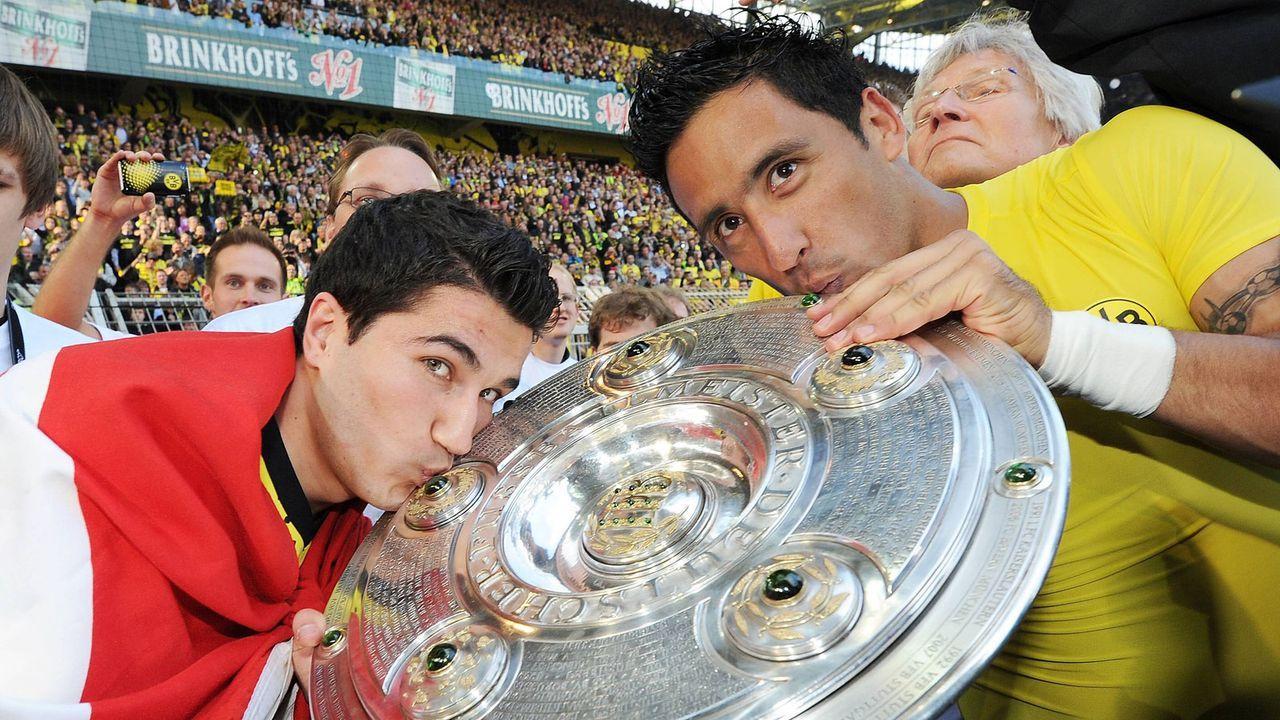 Nuri Sahin und Lucas Barrios (Borussia Dortmund) - Bildquelle: Imago Images